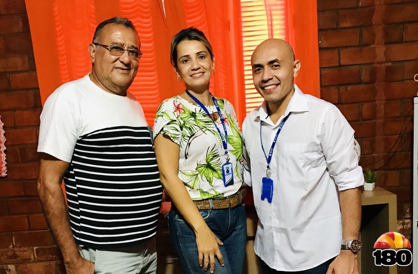 Cláudio Rocha, Daniela Moraes e José Gleisfan