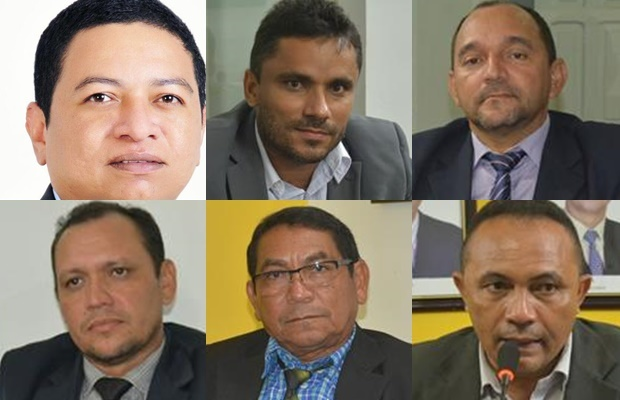 Vereadores que votaram pelo impeachment