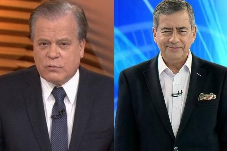 Paulo Henrique Amorim e Chico Pinheiro