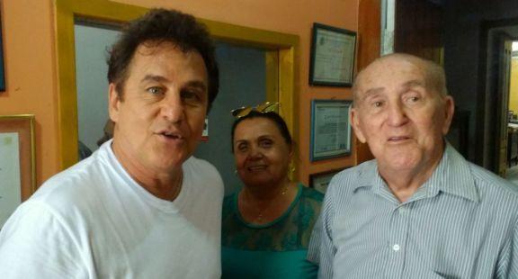 Marcos Frota conheceu o contador José Aragão, irmão do comediante Renato Aragão quando esteve em Parnaíba com seu circo Marcos Frota Circo Show no final do ano de 2017
