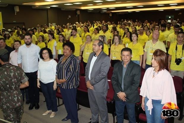 Cerimônia de abertura da Operação João de Barro, do Projeto Rondon