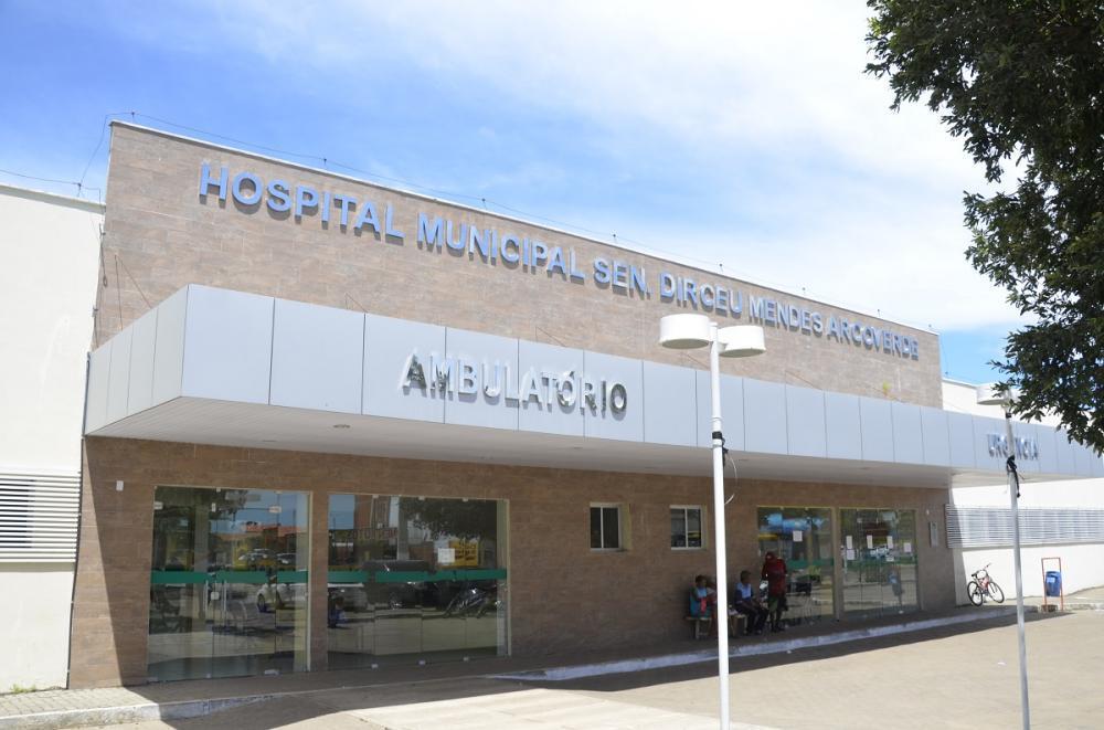 Hospital para onde as vítimas foram levadas em Água Branca.