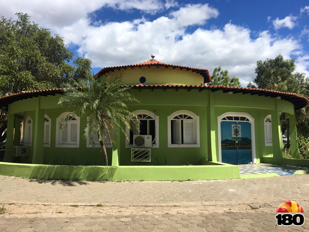 Palácio das Carnaúbas, centro de Campo Maior