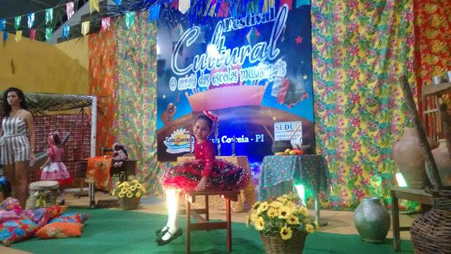 Super destaque do I Festival Cultural das Escolas Municipais de Luís Correia.
