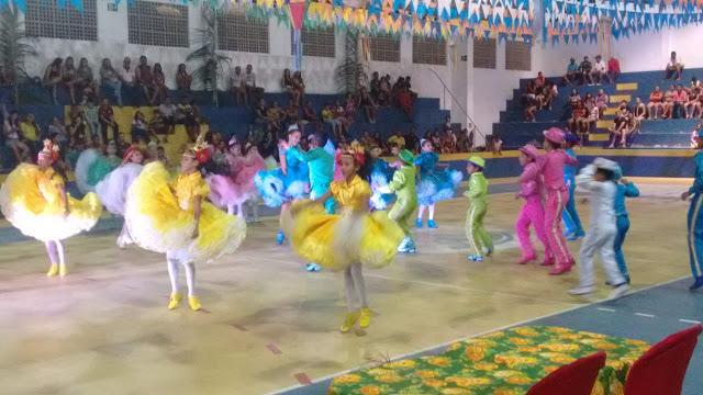 I Festival Cultural das Escolas Municipais de Luís Correia.