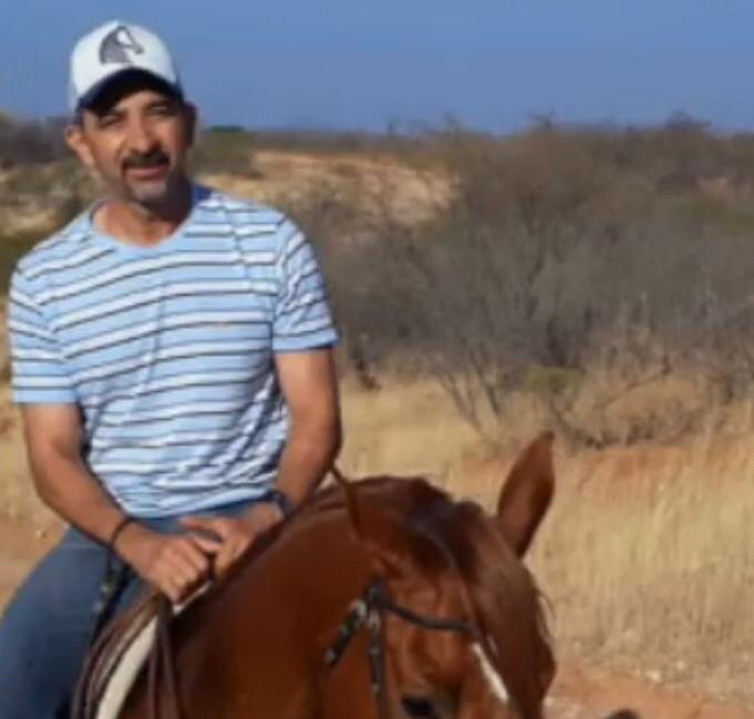 Empresário vítima de queda de cavalo