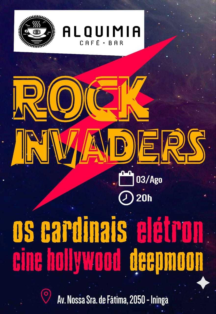 Festival alternativo reúne várias bandas de rock em Teresina