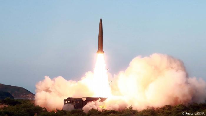 Os testes foram supervisionados pelo ditador norte-coreano, Kim Jong-un