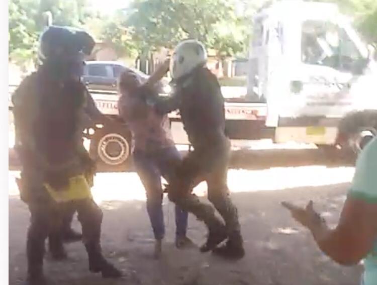 Policial teria agredido mulher durante blitz em Buriti dos Lopes