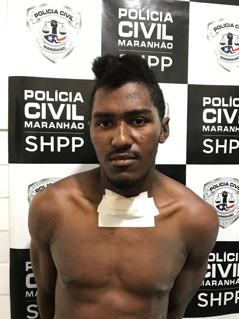 Suspeito foi preso em flagrante