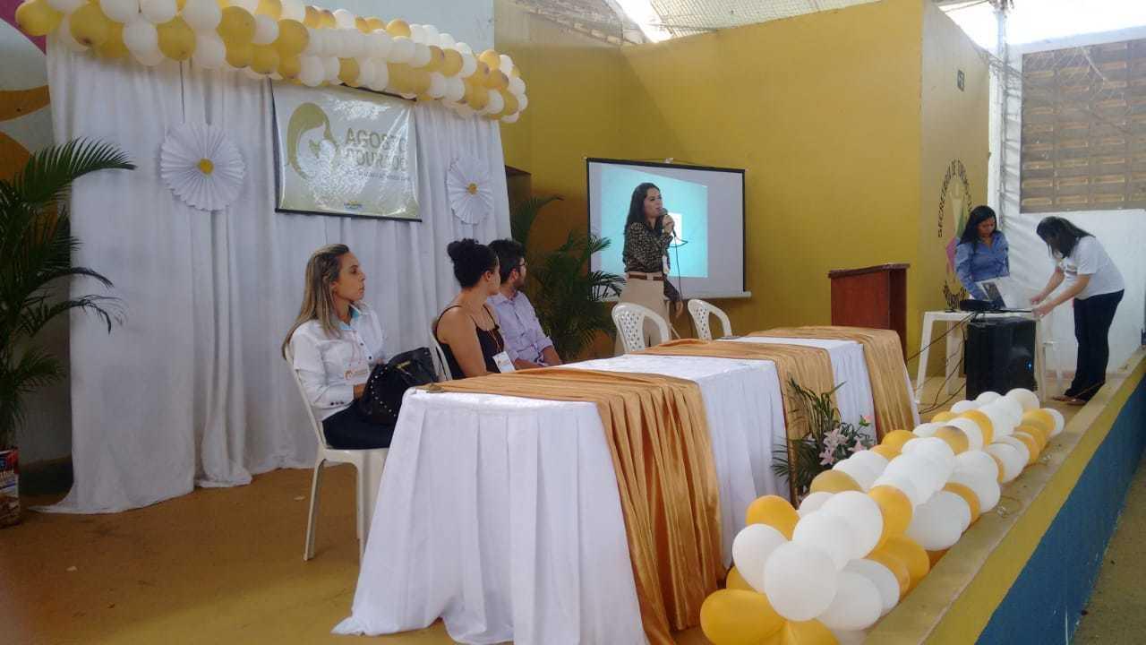 Prefeitura de Luís Correia promove Dia da Amamentação. (Foto: Roderico Júnior, da PMLC)