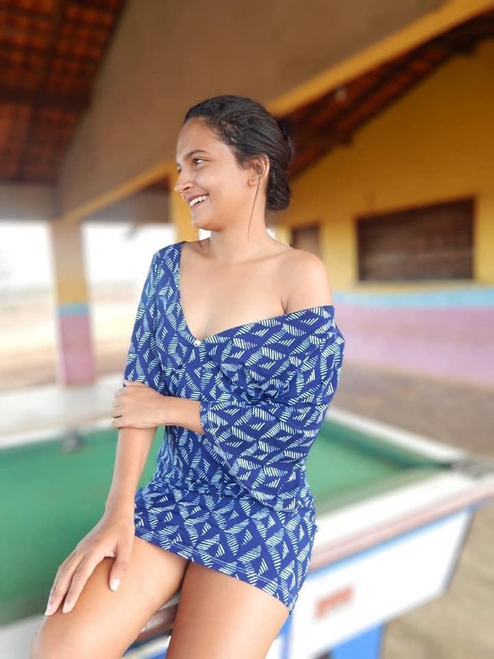 Márcia Suelen, 17 anos.