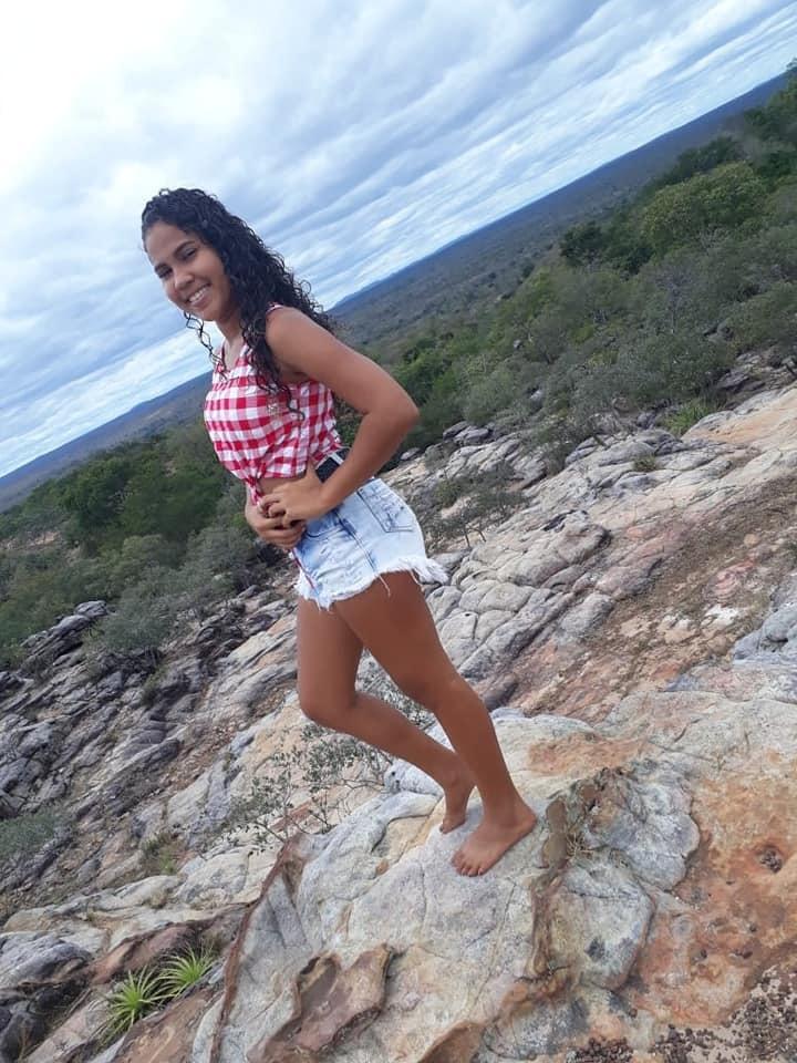Maria Eduarda, 14 anos.