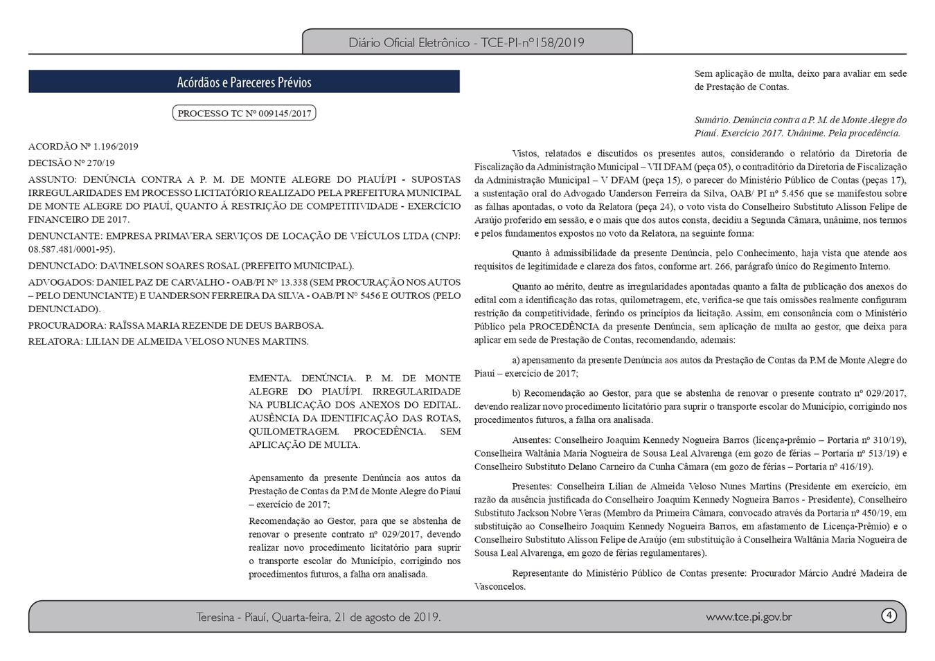 Prefeito é investigado por irregularidades em licitação de quase R$ 1 milhão 3