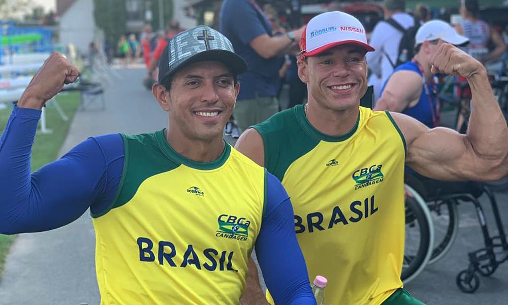Luís Cardoso e Caio Ribeiro