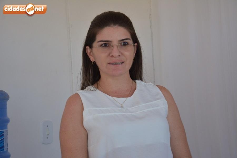 Lucileide de Carvalho, Secretária de Gestão e Planejamento de Massapê do Piauí