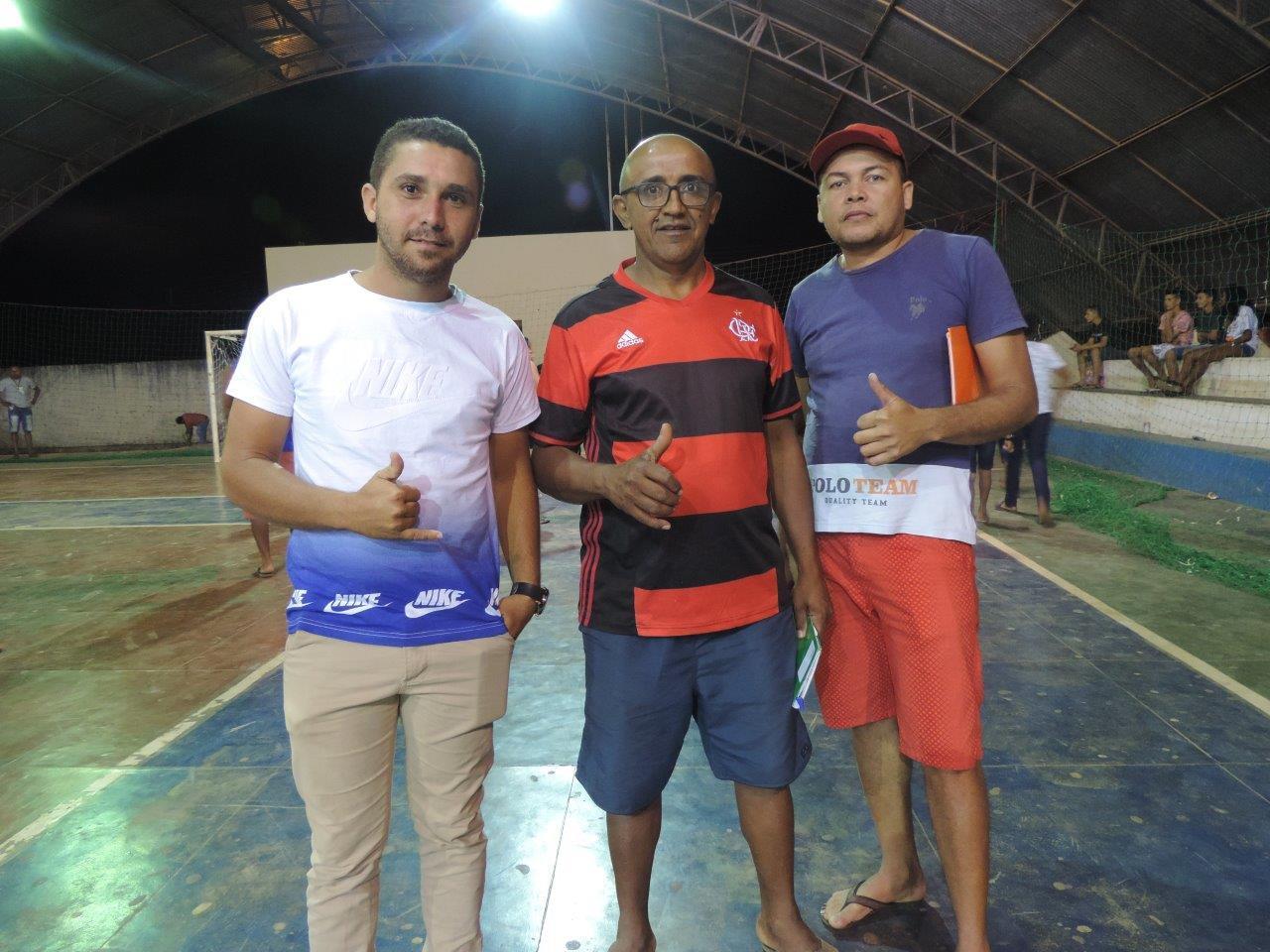 Equipe do departamento de esportes de Santa Filomena