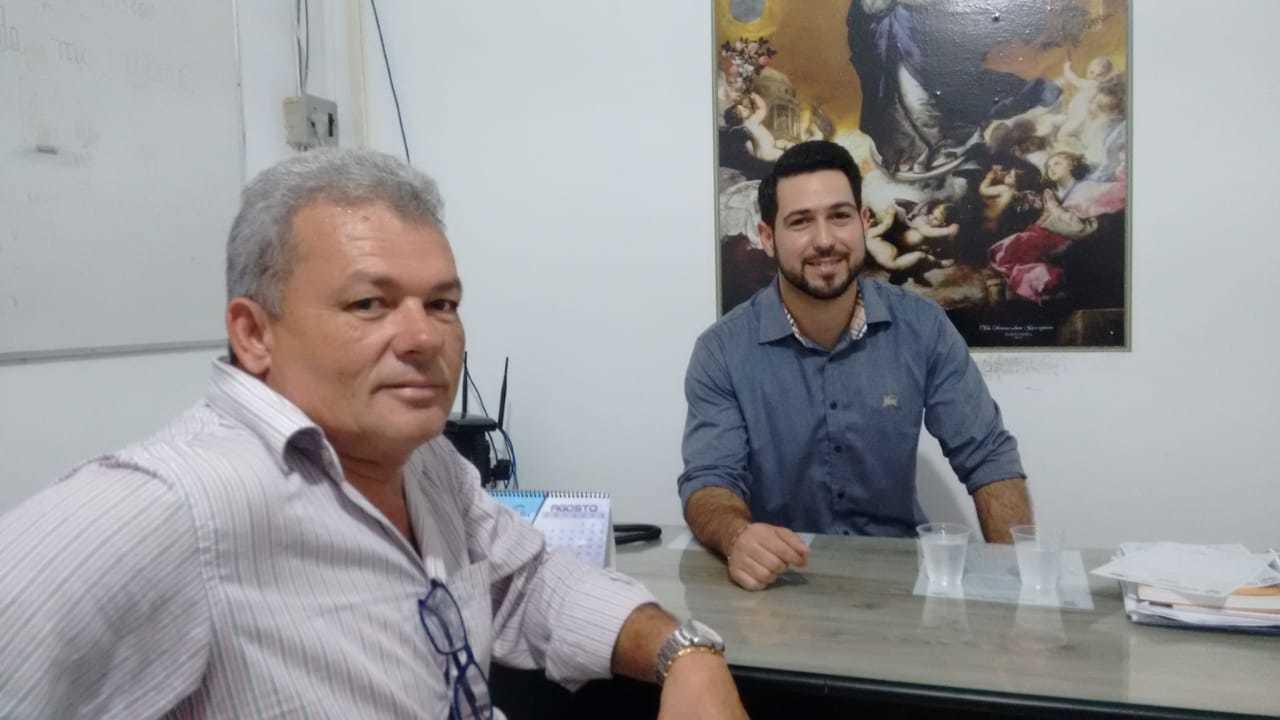 Dr. Felipe Sampaio, novo secretário de Saúde de Luís Correia.