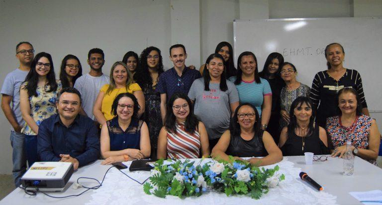 O público presente no evento contou com professores e alunos da UESPI