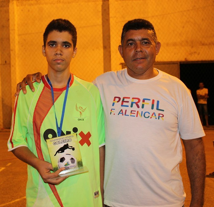 Vereador anto Neto e Matheus, Melhor goleiro sub 15