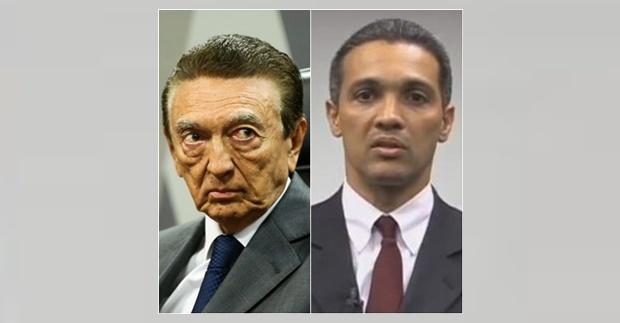 Ex-ministro Lobão e seu filho, Márcio Lobão