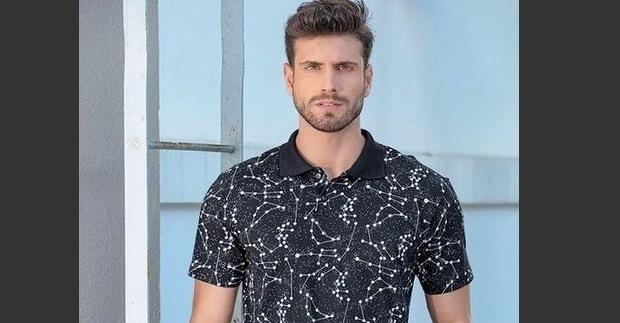 Guilherme Leão, modelo de 28 anos e conhecido como o