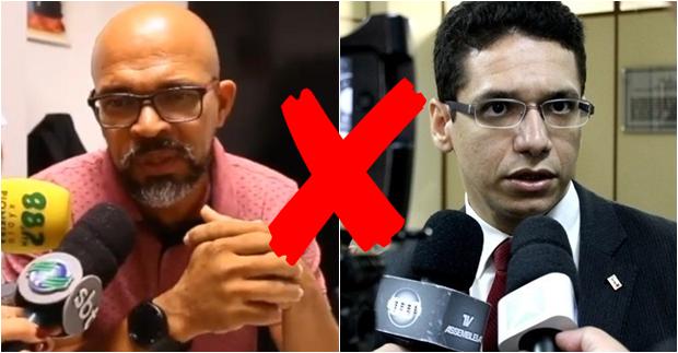 Petistas Júnior do MP3 e Daniel Oliveira