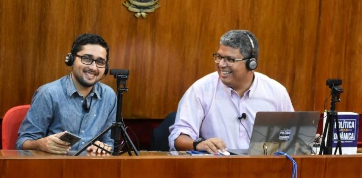 Gustavo Almeida e Marco Melo: eles fazem dobradinha do polêmico Política Dinâmica
