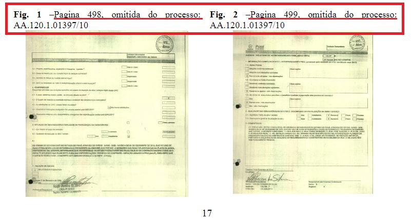 _Documentos omitidos dos autos, segundo o Núcleo