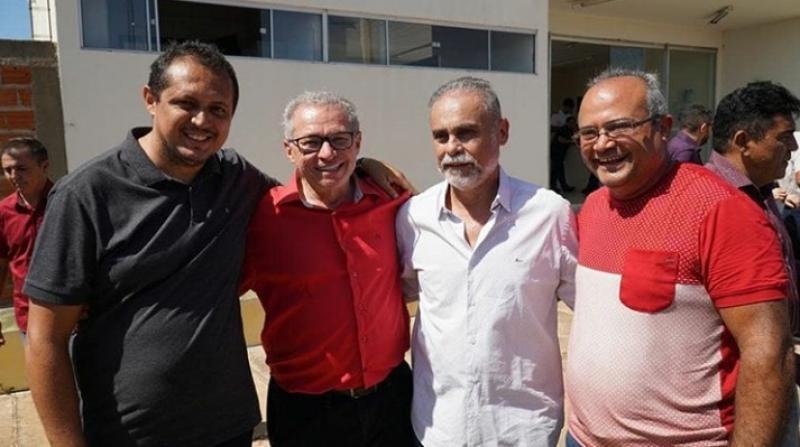 Wellington Dantas, Assis Carvalho, Araujinho e Zacarias Teixeira