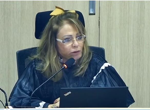 _Conselheira do TCE Lilian Martins, quando do posicionamento na Corte de Contas