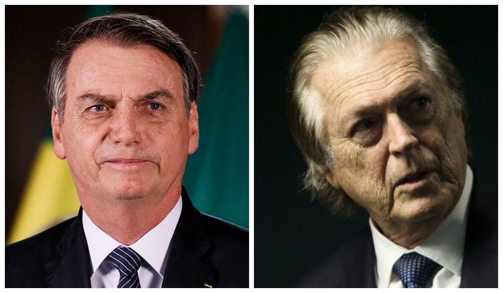 Jair Bolsonaro e Luciano Bivar.