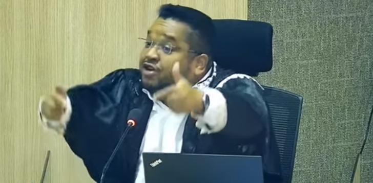 _Conselheiro Alisson Araújo, advertência ao Tribunal para não pegar só os pequenos