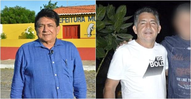 Prefeito Dr Girvaldo e o vice Decarts Veras