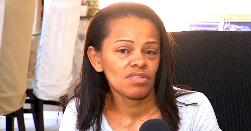 Keyla Oliveira, mãe da adolescente