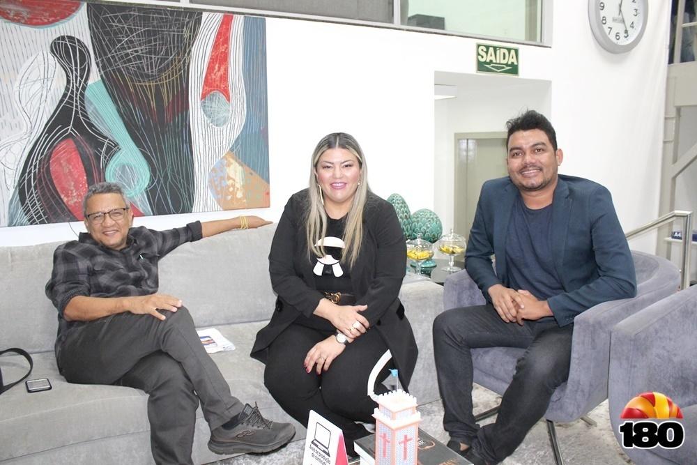 Dr Helder Eugênio, Samantha Cavalca e Jhone Sousa