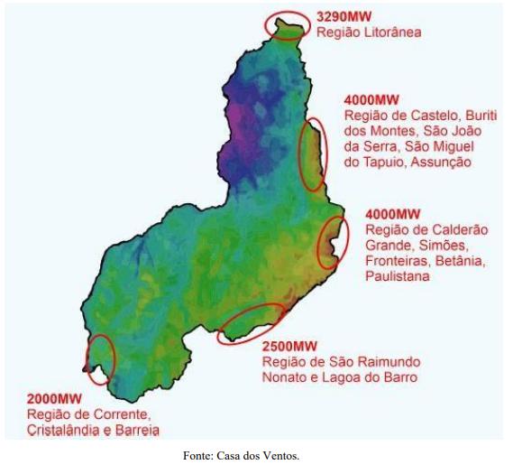 Piauí é terceiro maior gerador de energia eólica do Brasil; 60 parques em operação 4