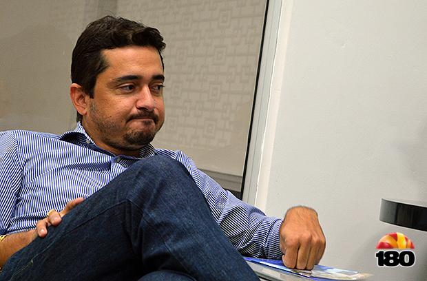 _Luciano Fonseca, prefeito afastado de Bertolínia (Foto: 180graus)