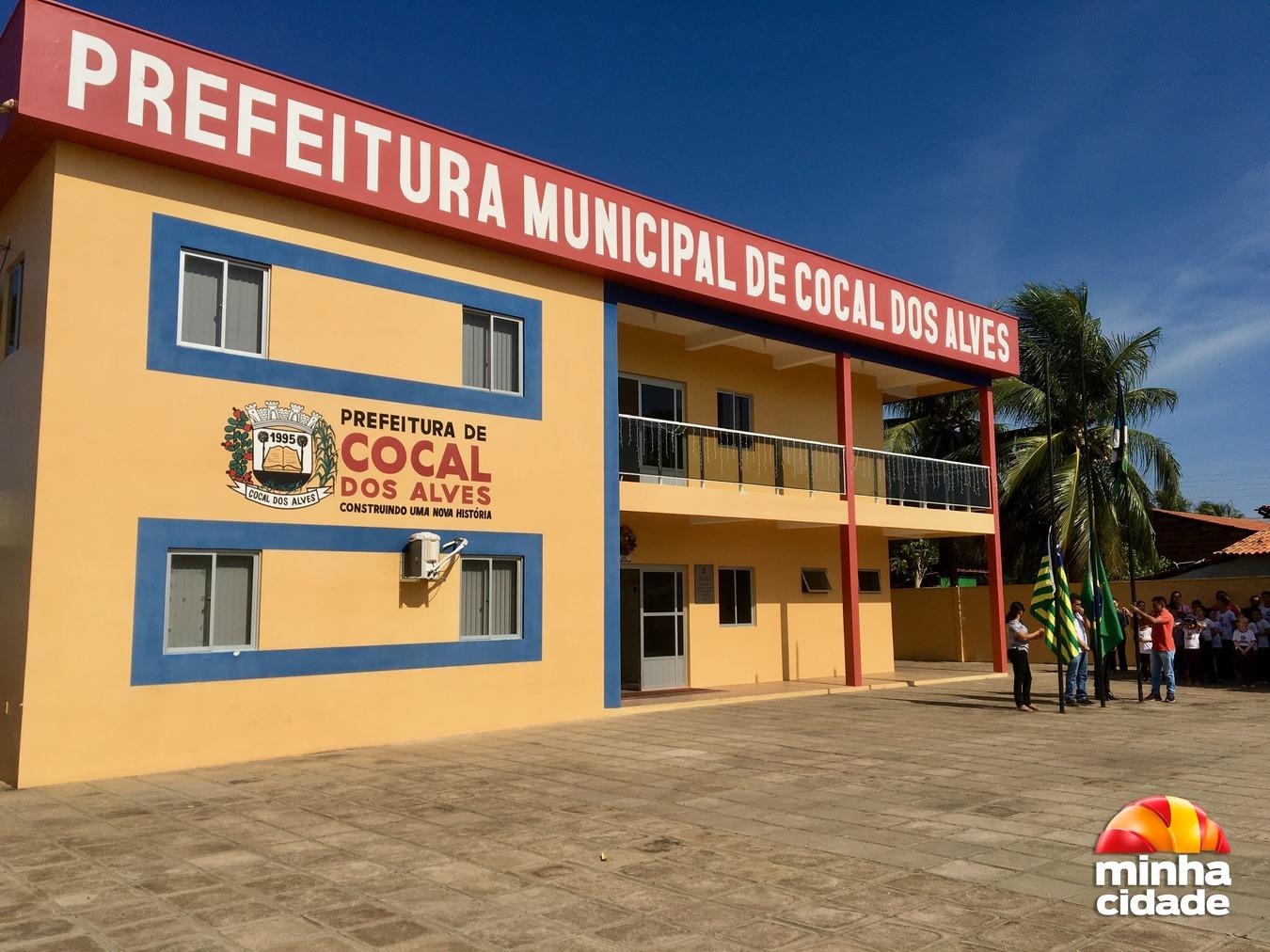 Sede da Prefeitura Municipal de Cocal dos Alves