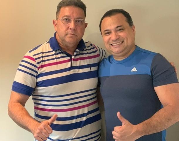 Viana com o deputado Evaldo Gomes