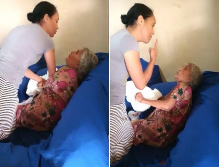 Pastora e cantora gospel espanca a sogra de 73 anos na frente de crianças; vídeo