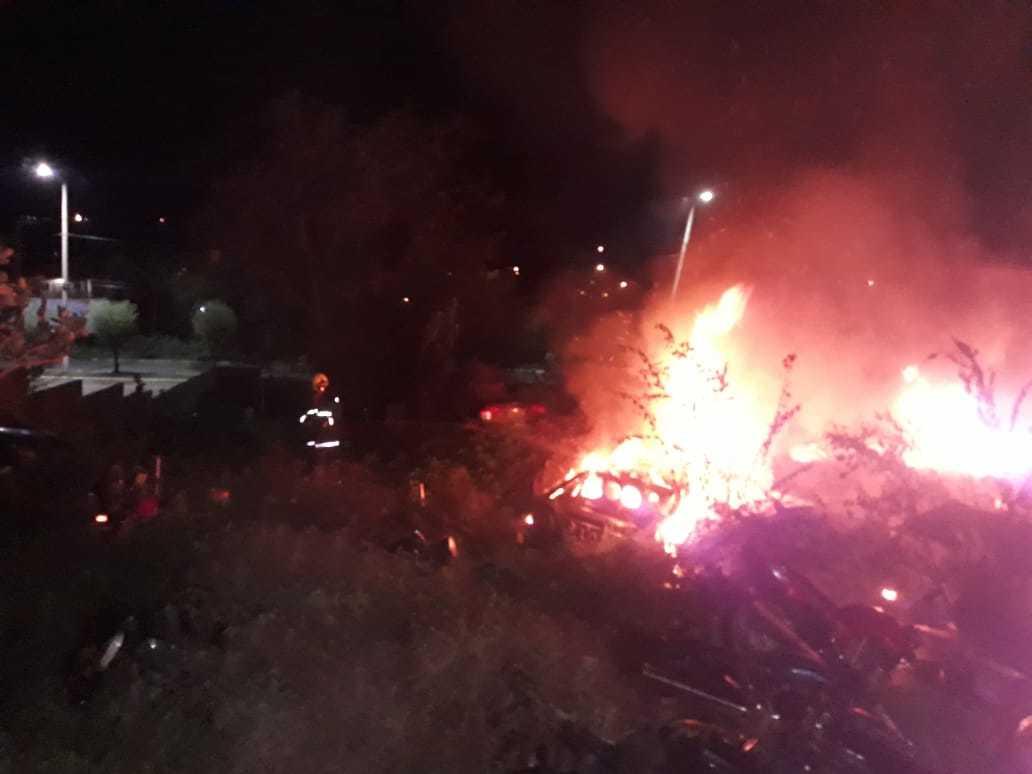 Incêndio atinge antiga delegacia em Picos e destrói mais de 50 veículos 2