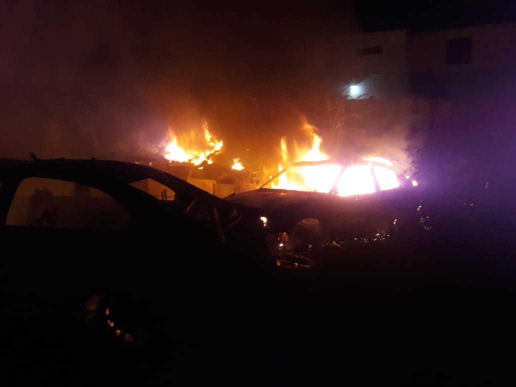 Incêndio atinge antiga delegacia em Picos e destrói mais de 50 veículos 3