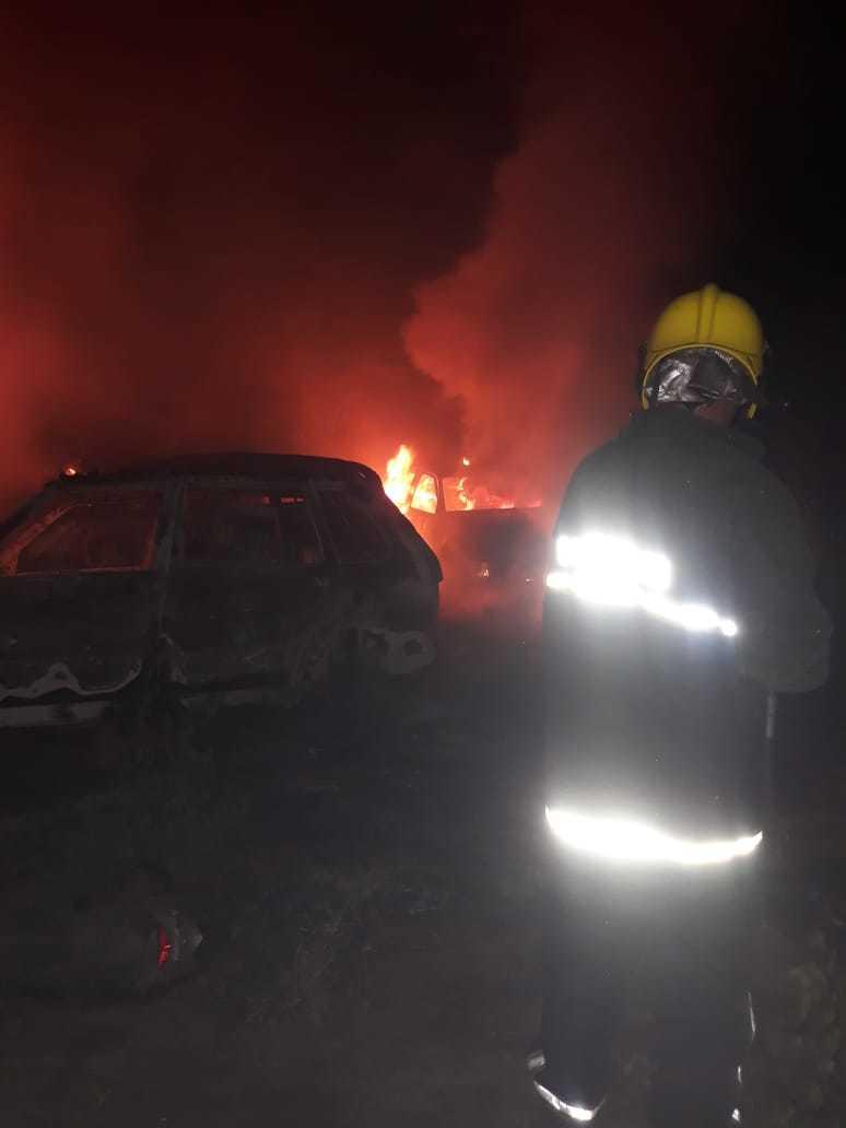 Incêndio atinge antiga delegacia em Picos e destrói mais de 50 veículos 4
