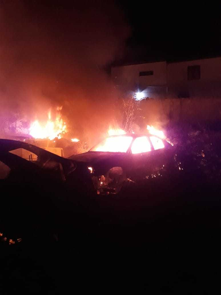 Incêndio atinge antiga delegacia em Picos e destrói mais de 50 veículos 5