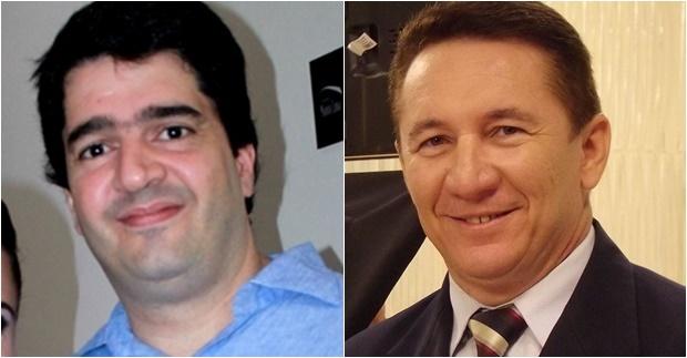 Cláudio Tajra e João Neto
