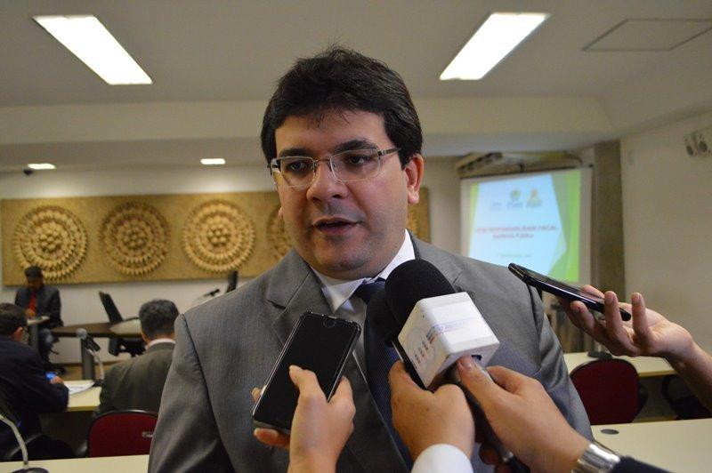 Secretário de Fazenda Rafael Fonteles