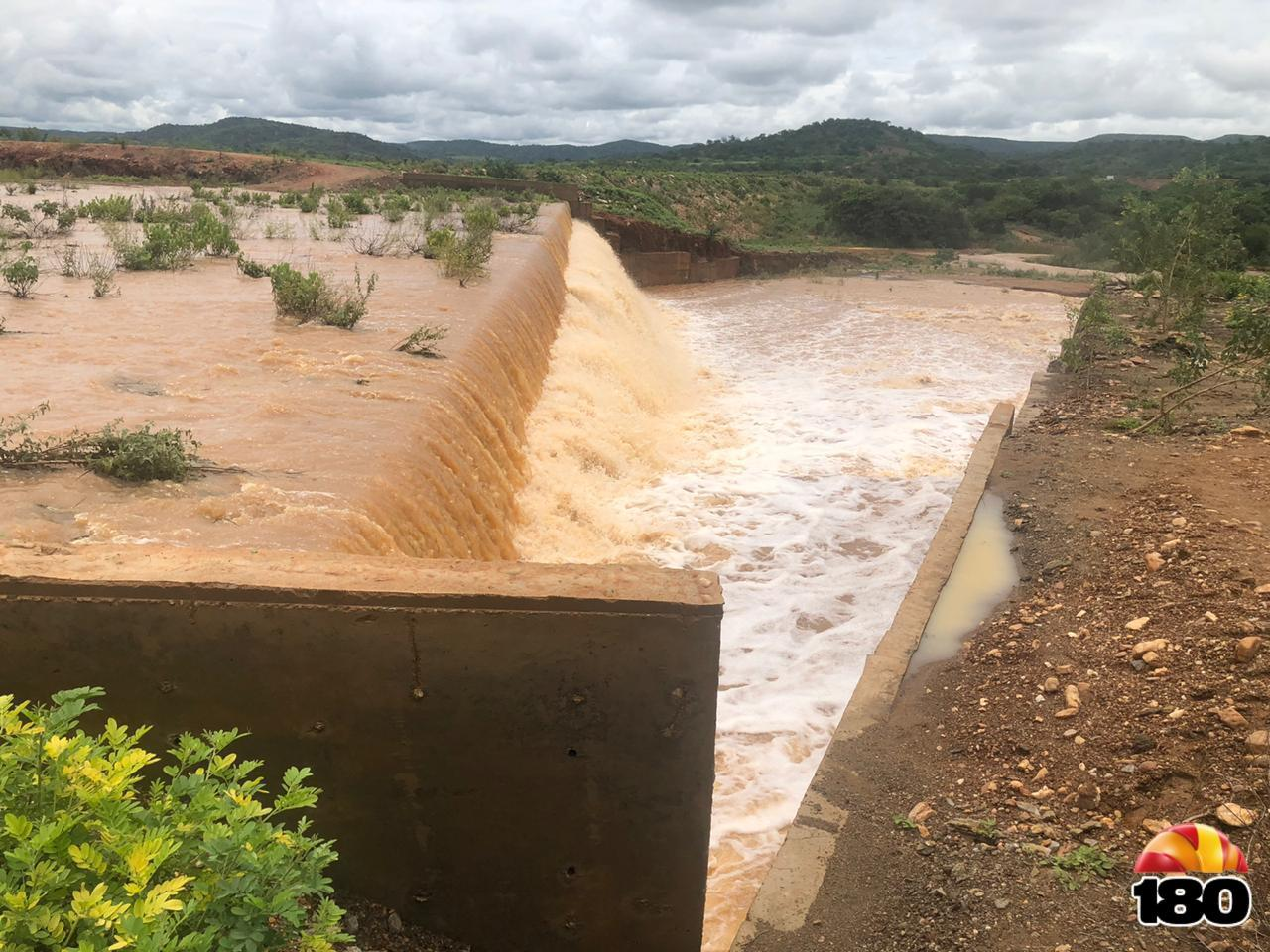 Imagens da Barragem Serra do Brejo