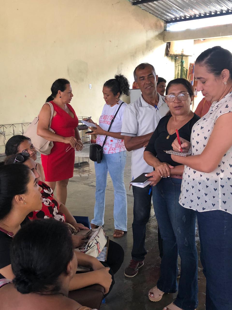 Vereadora faz alerta após visita a abrigo de venezuelanos em Teresina