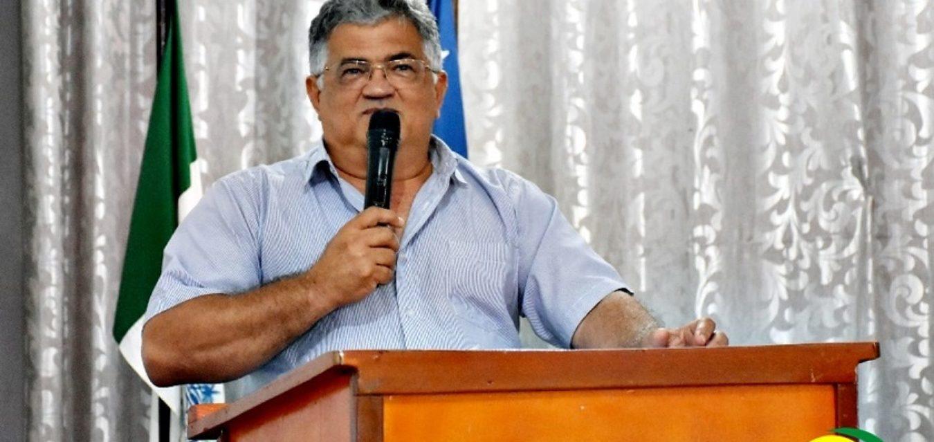 _Prefeito Silva Júnior, do PT (Foto: Cidades Net)